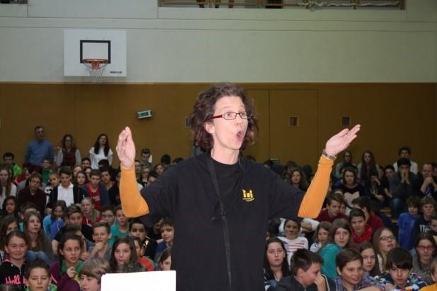 Chorleiterin Mag. Petra Schmid-Weiss