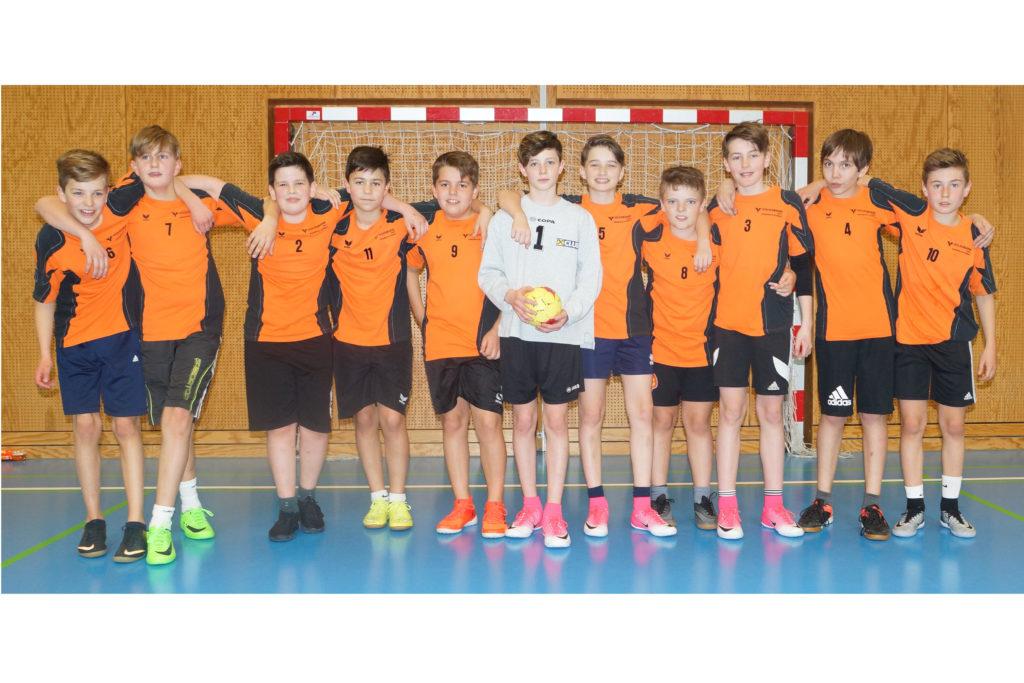 Minihandball 2017/18 3. Platz - Jungs der 2ad