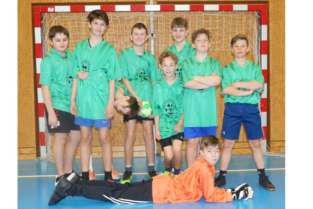 Minihandball 2017/18 5. Platz - Jungs der 2bc