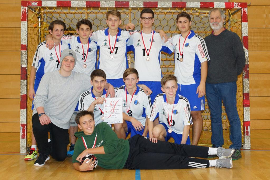 Oberstufenmeisterschaft 2017/18 3. Platz - Jungs