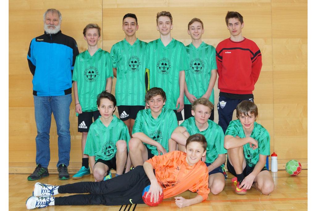 Unterstufenmeisterschaft 2017/18 4.Platz - Jungs der 3abc und 4abc