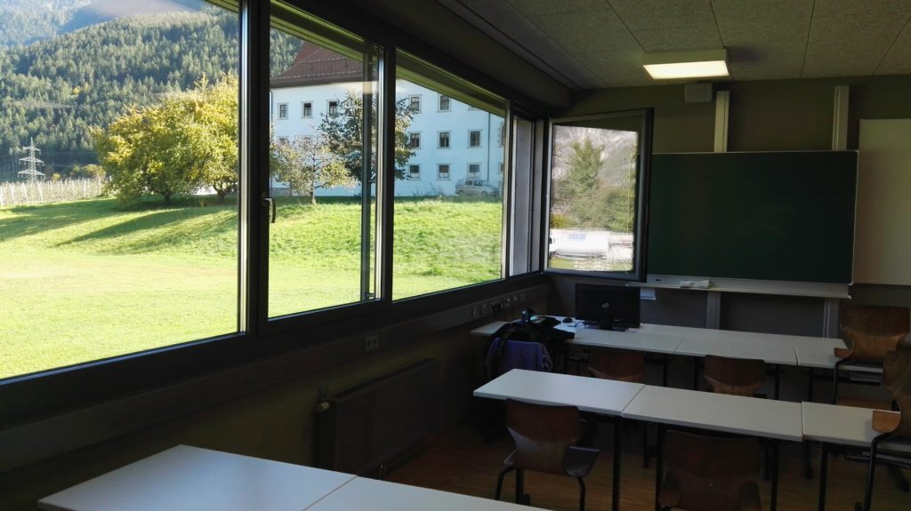 Klasse im Neubau